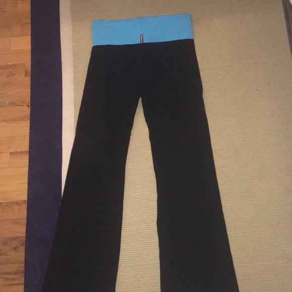 125f5f9c5b Hard Tail Pants | Hardtail Flare Yoga Pant Blue Rim | Poshmark